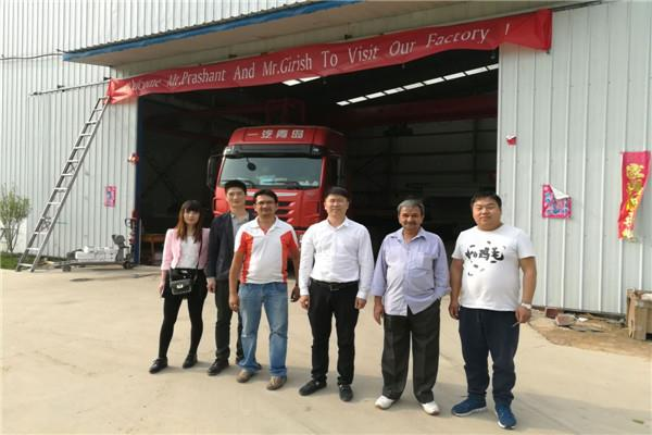 Australia Customers Inspected Huaxin Truck Scale
